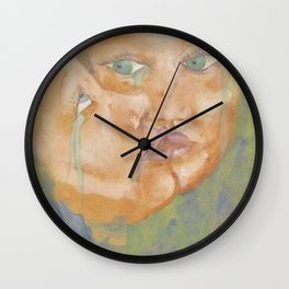 Sad beauties Wall Clock