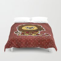 gryffindor Duvet Covers featuring Mommy's Future Gryffindor by mikaelak