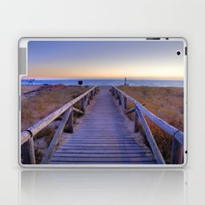 The path..., the beach.... Laptop & iPad Skin