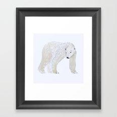 ICE Framed Art Print