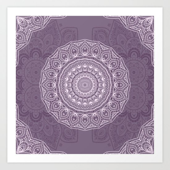 White Lace on Lavender by lena127