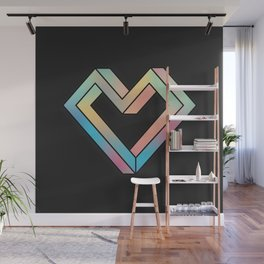 le coeur impossible (nº 4) Wall Mural