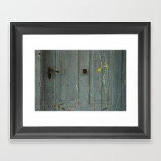 the door of perception Framed Art Print