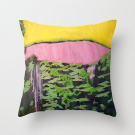 Place of Rarest Beauty Throw Pillow