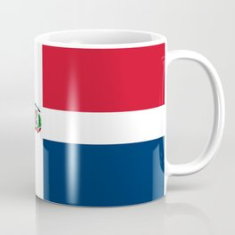Flag of the dominican republic Coffee Mug