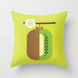 Fruit: Kiwifruit Throw Pillow