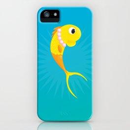 Gwen the Love Goldfish. iPhone Case