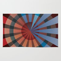 patriotic Area & Throw Rugs featuring Patriotic by Chris Cooch