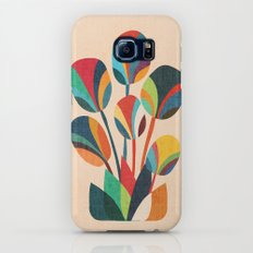 Ikebana - Geometric flower Galaxy S6 Slim Case