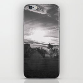 Streamers in the sky iPhone Skin
