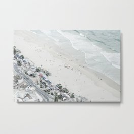 Surfers Paradise: Birds Eye View I Metal Print