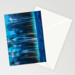 mystic forest - blue Stationery Cards