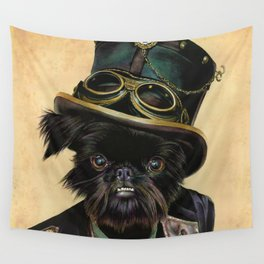 Sir Cornelius Kirby (steampunk) Wall Tapestry