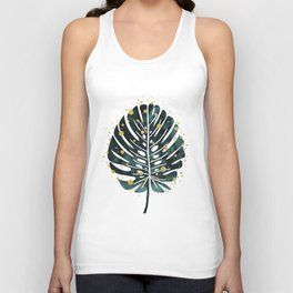 Holiday Monstera Unisex Tank Top