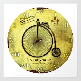 Old Byciclete Art Print