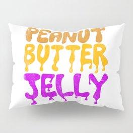 Peanut Butter Jelly Pillow Sham