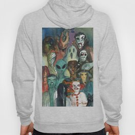 monsters watercolor squad Hoody