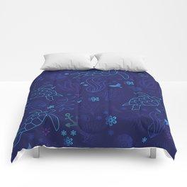 Sea Turtle Haven Comforters