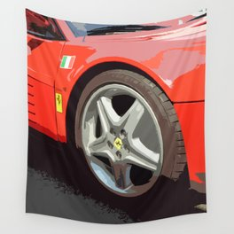 Red Passion Wall Tapestry