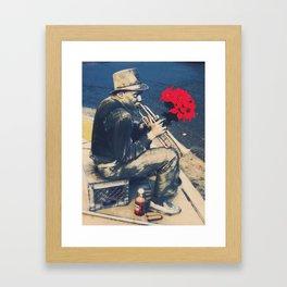 New Orleans Hustle Framed Art Print