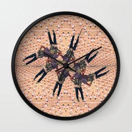 Circular Dystrophy Wall Clock