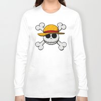 luffy Long Sleeve T-shirts featuring Jack Luffy by le.duc