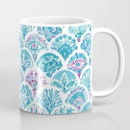 OMNISCIENT MERMAID All-Seeing Eye Scallop Coffee Mug