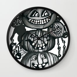 Cat's Day Out Wall Clock
