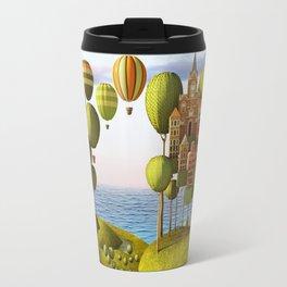 City in the Sky_Lanscape Format Travel Mug