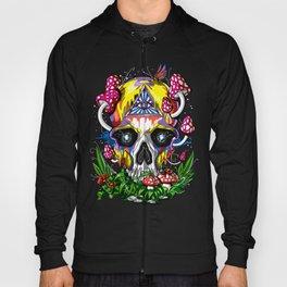 Magic Mushrooms Psychedelic Skull Hoody