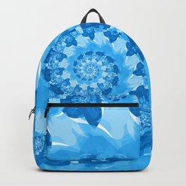 Endless Ocean Blue Spiral Backpack