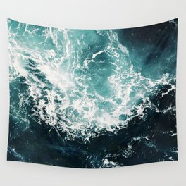 Sea waves II Wall Tapestry