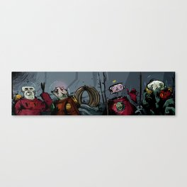 weired collection 03 (outa space) Canvas Print