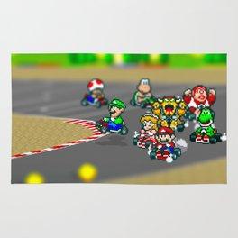 Mario Circuit Rug