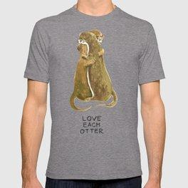 Love each otter T-shirt