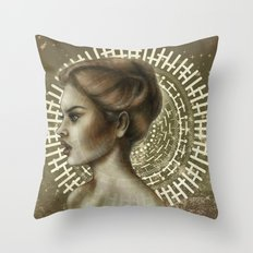 Sensual and Rational Throw Pillow