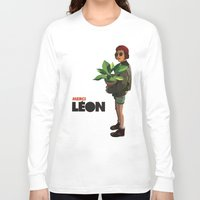 leon Long Sleeve T-shirts featuring Mathilda, Leon the Professional by Natalié Art&Living