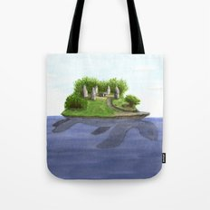 Turtle island Tote Bag