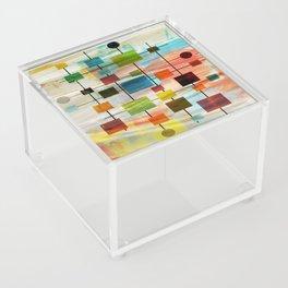 Mid-Century Modern Art 1.3 -  Graffiti Style Acrylic Box