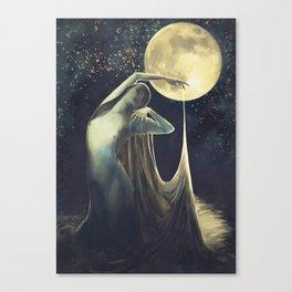 Ocean Veil Canvas Print