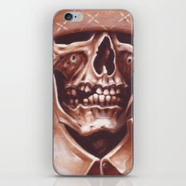 skate and destroyed iPhone Skin