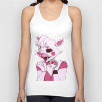 fnaf Tank Tops featuring The Mangle by dggeoffing