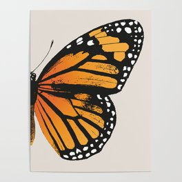 Monarch Butterfly | Right Wing Poster