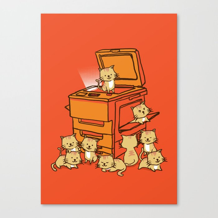 The Original Copycat Canvas Print