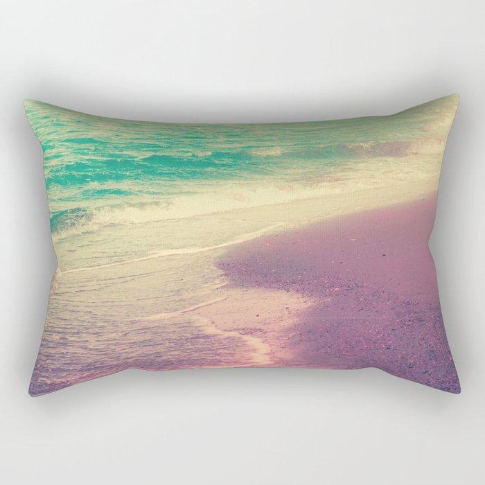 Beach Waves II - Keep Calm and Dream On Rectangular Pillow