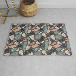 Abstract terrazzo pattern Rug