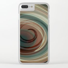 creation #2 Clear iPhone Case