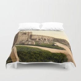 Whitby, St. Mary's Church, Yorkshire, England Duvet Cover