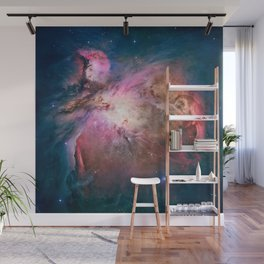 Great Nebula in Orion, Messier 42. Wall Mural