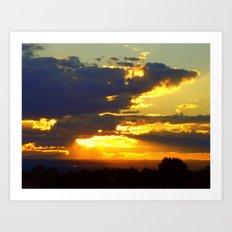 Sunset Splendor Art Print